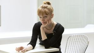 Rose Glass, directora de 'Saint Maud'.