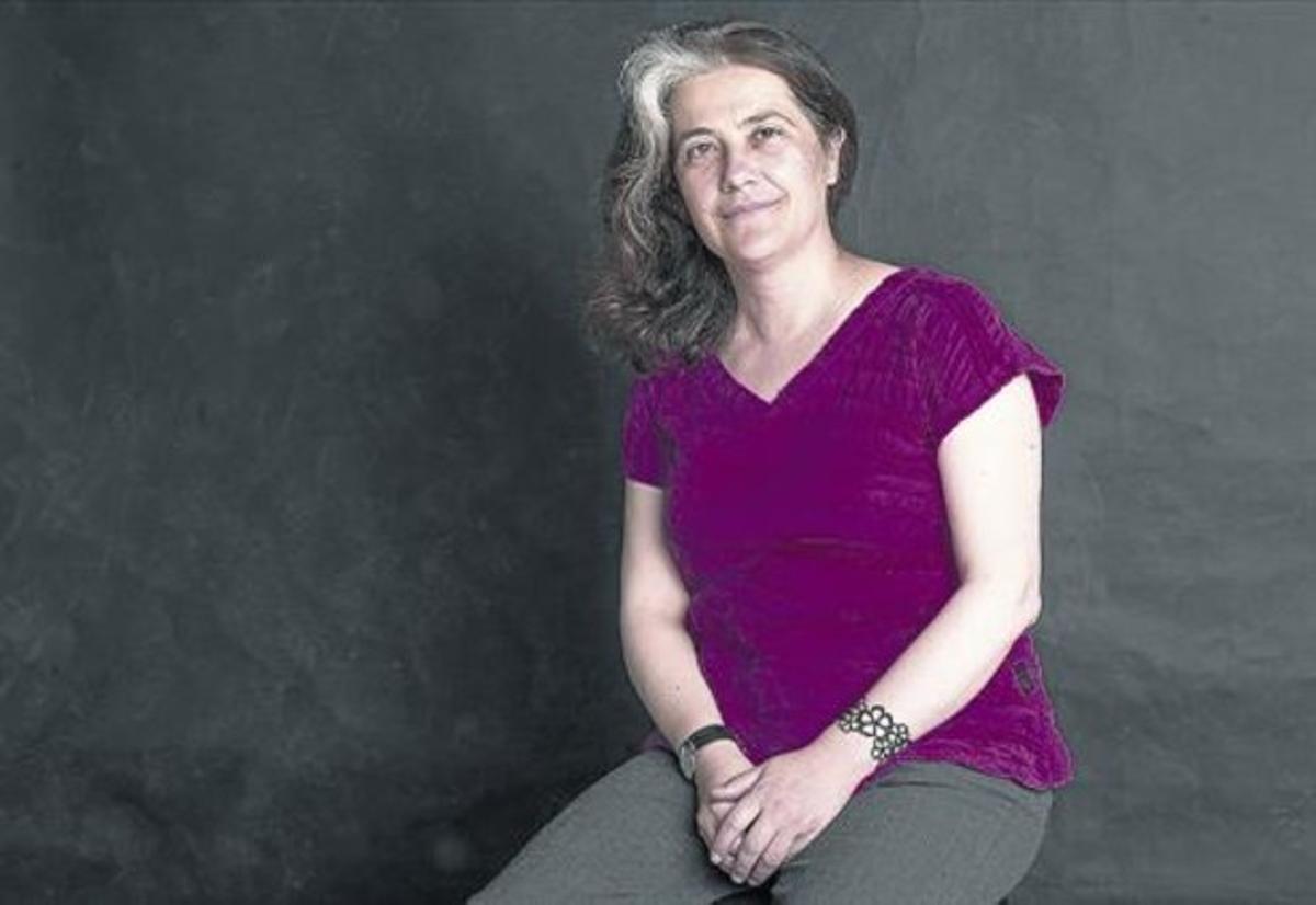 La novel·lista Rosa Ribas, nascuda al Prat i resident a Alemanya des de fa 23 anys.