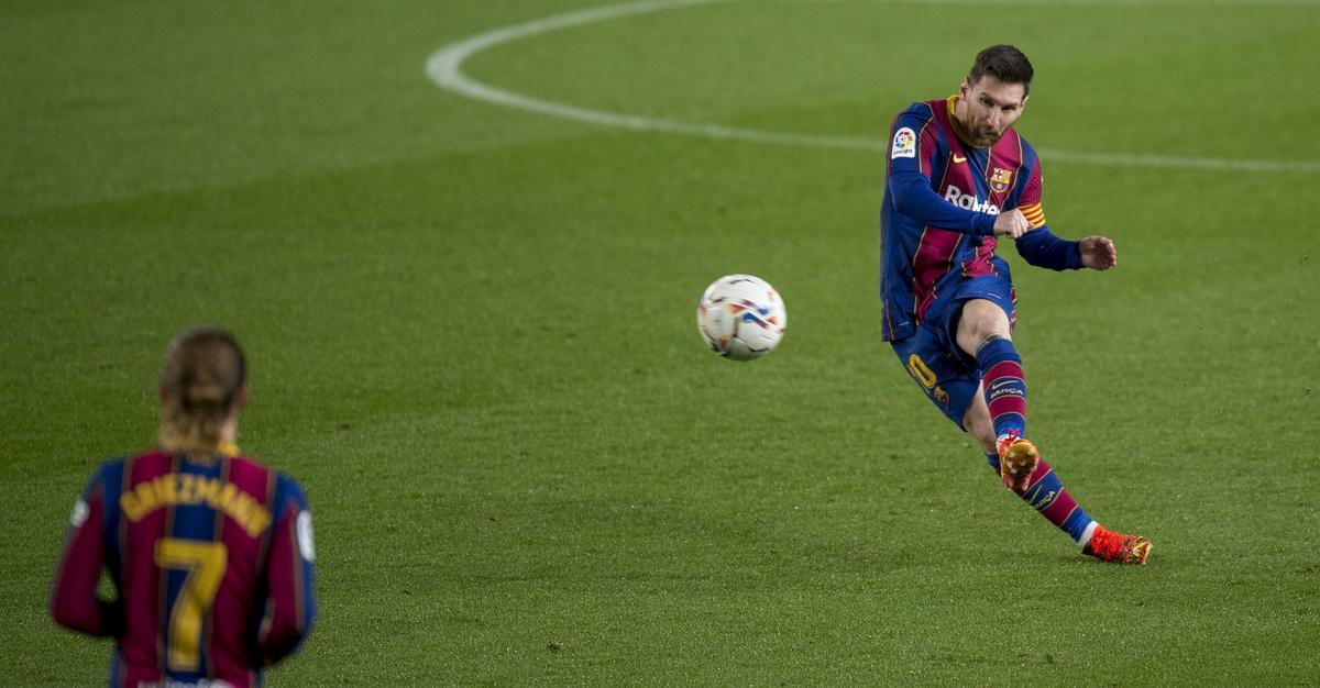 Messi lidera la caça del Barça a la Lliga