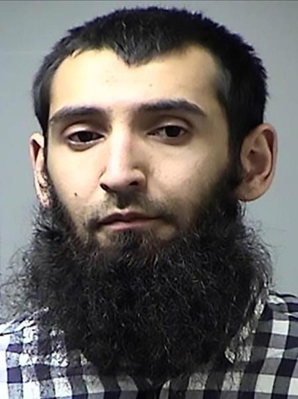 Sayfullo Saipov, el autor del atentado de Nueva York.