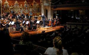Recital de la Simfònica del Liceu en el Palau de la Música.