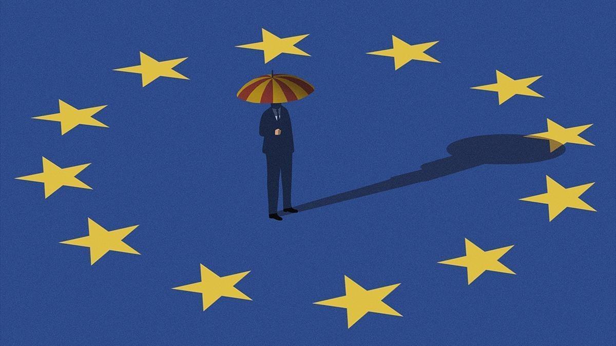Puigdemont y su democracia antieuropea