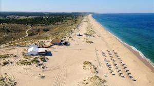 Playa de Carvalhal, en Comporta, a 120 kilómetros de Lisboa.