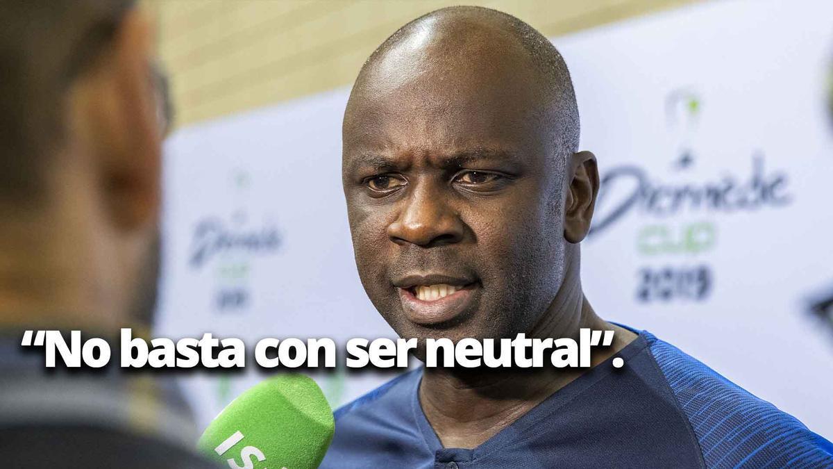 """Thuram contesta: """"No basta con ser neutral""""."""