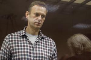 Alekséi Navalni, durante una vista judicial en Moscú el pasado 20 de febrero.
