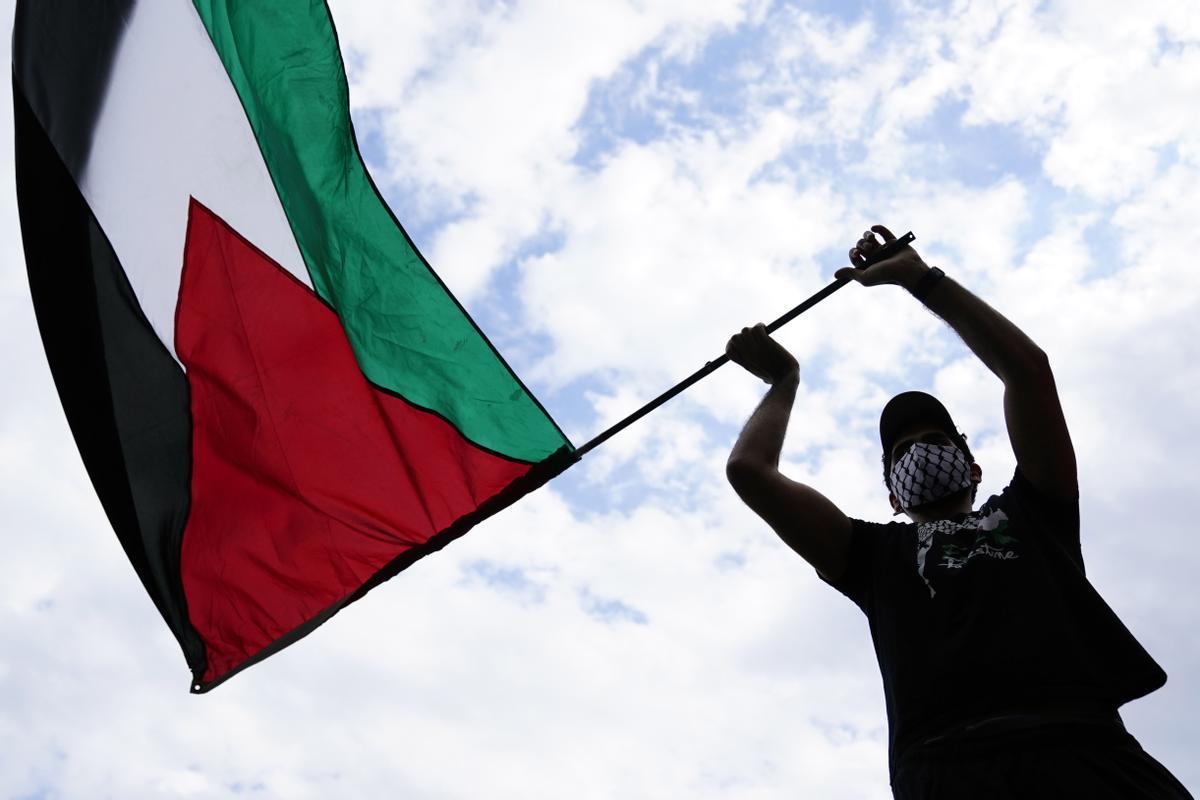 Protestas a favor de Palestina