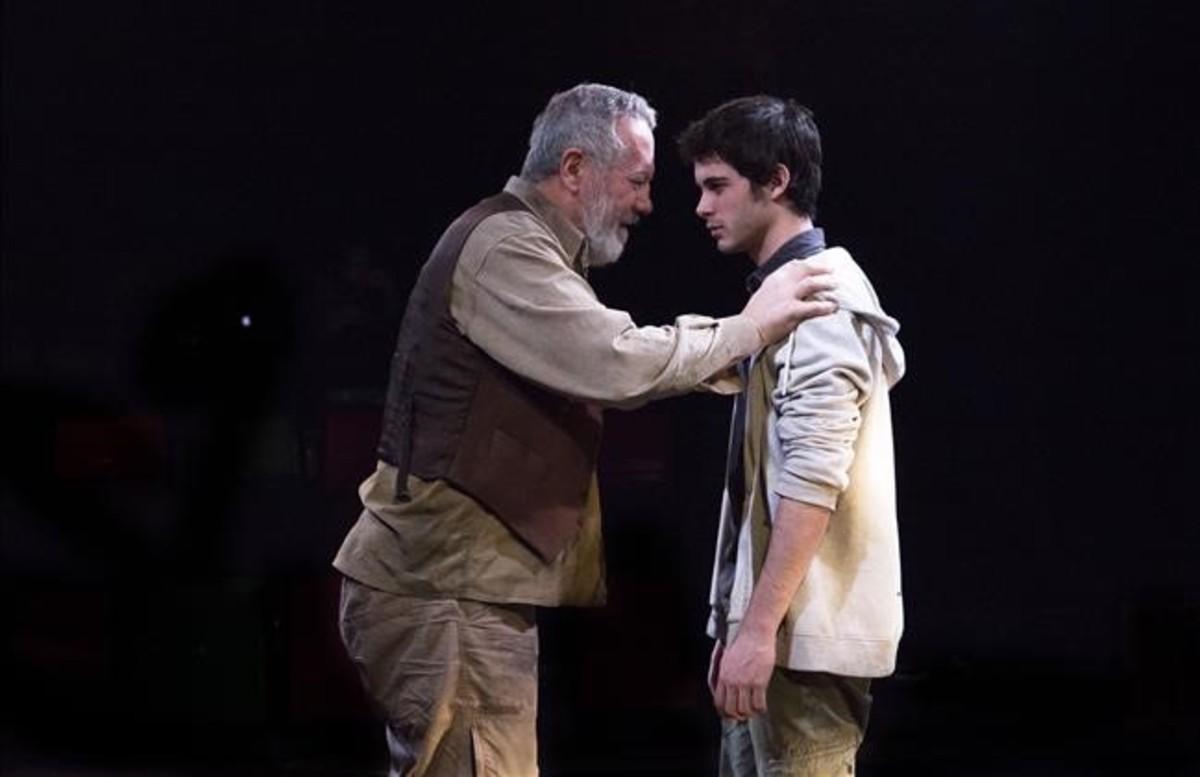 Julio Alonso y David Solans en 'A cada rey su merecido' (Versus Teatre).