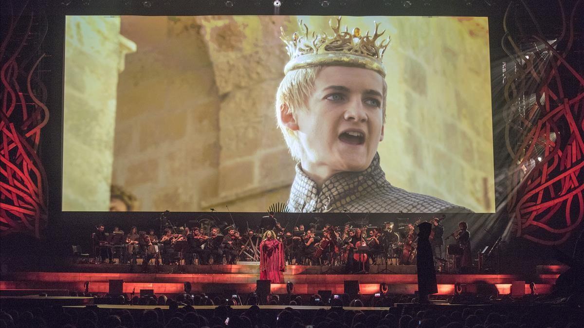 Juego de Tronos en el Palau Sant Jordi