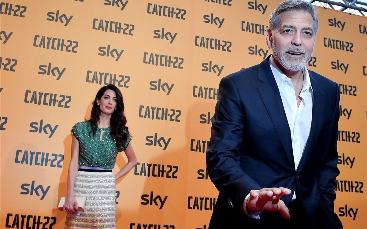 Els Clooney viuen obsessionats per la seva seguretat