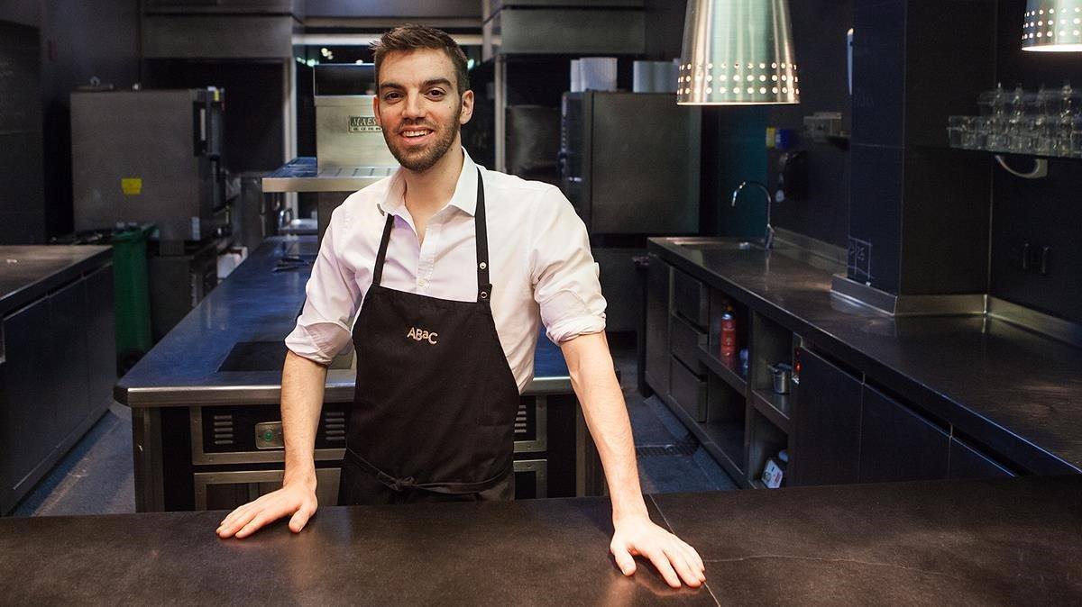El cocinero David Andrés se hacecargo de las cocinas de Via Veneto tras salir del restaurante Àbac.