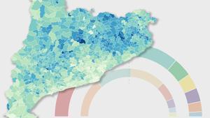 Estos han sido los resultados de Junts por municipios en Catalunya