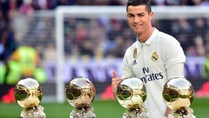 Les presses de Cristiano Ronaldo