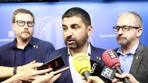 El 'conseller' de Treball, Afers Socials i Famílies, Chakir el Homrani.