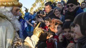 Els nens de Barcelona podran demanar els seus regals per videotrucada als Reis i al Pare Noel