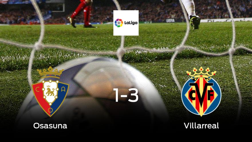 El Villarreal gana 1-3 al Osasuna y se lleva los tres puntos - El Periódico