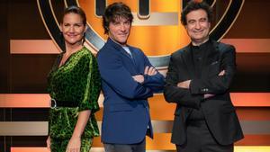Samanta Vallejo-Nágera, Jordi Cruz y Pepe Rodríguez, jurado de la octava edición de 'Masterchef'.