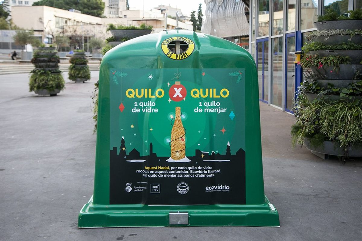 Contenedor de la campaña en Rubí