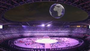 Ceremonia de inauguración de los Juegos