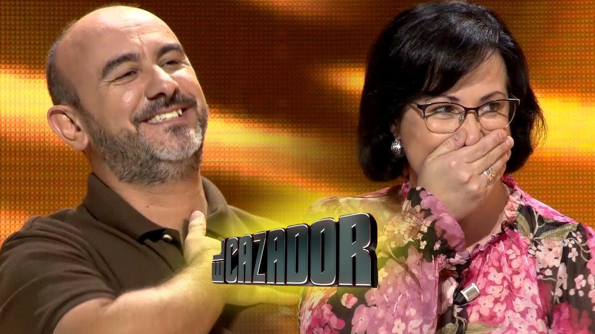 Pedro y Carmen se llevan el premio más alto de la historia de 'El cazador' en TVE