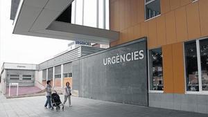 Acceso a urgencias del Hospital Parc Taulí de Sabadell.