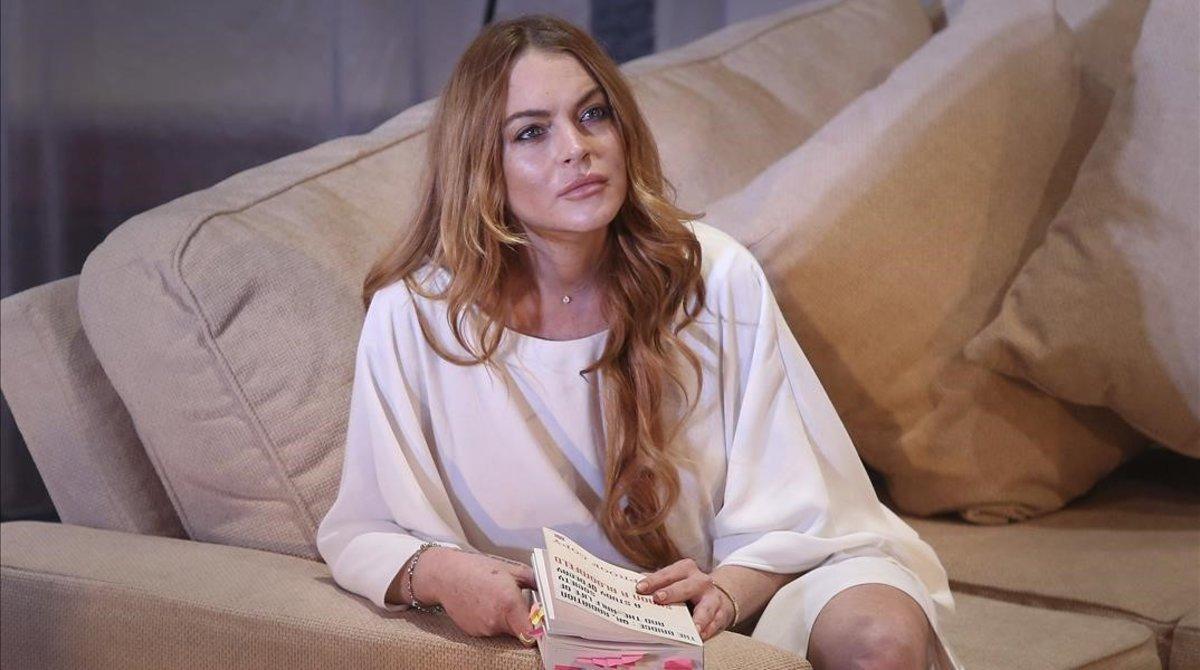 Lindsay Lohan en una de sus películas.