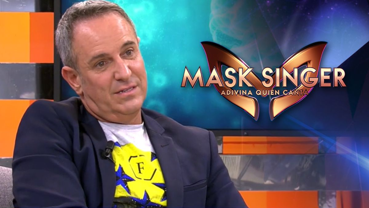 Víctor Sandoval lanza un bulo en 'Sálvame' sobre la segunda edición de 'Mask Singer' en Antena 3