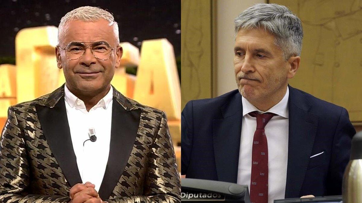 """Jorge Javier defiende a Marlaska y atiza a sus críticos: """"Son horrendos, ineptos y manipuladores"""""""