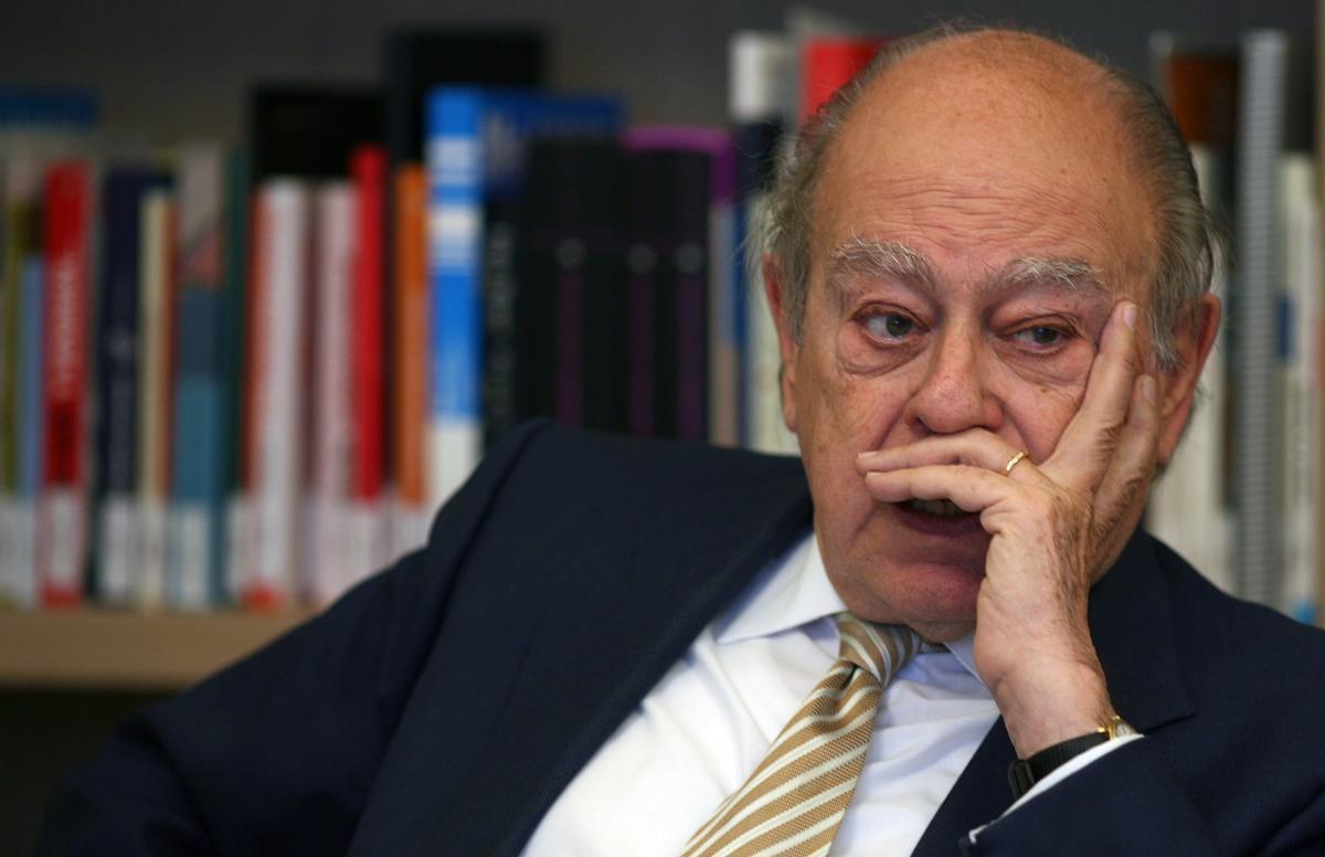 Imagen de archivo del expresidente Pujol, en el 2008