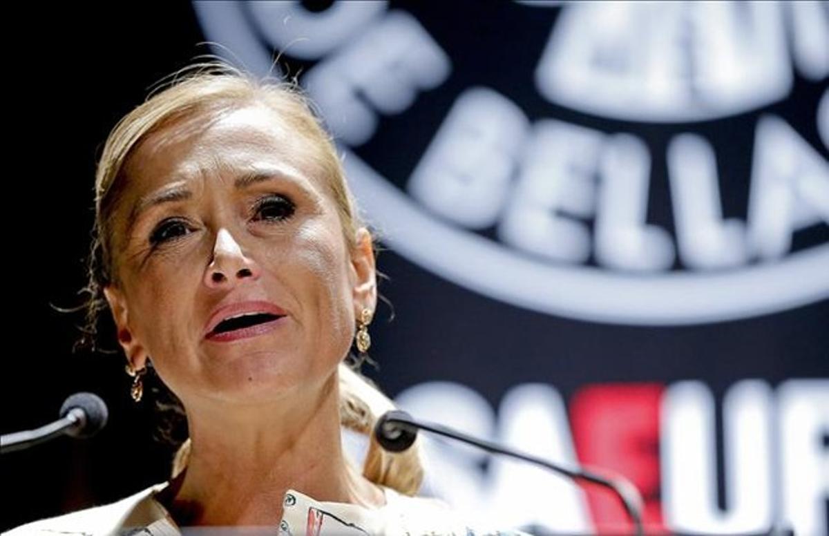 Cristina Cifuentes, delegada del Gobierno en Madrid, este martes.