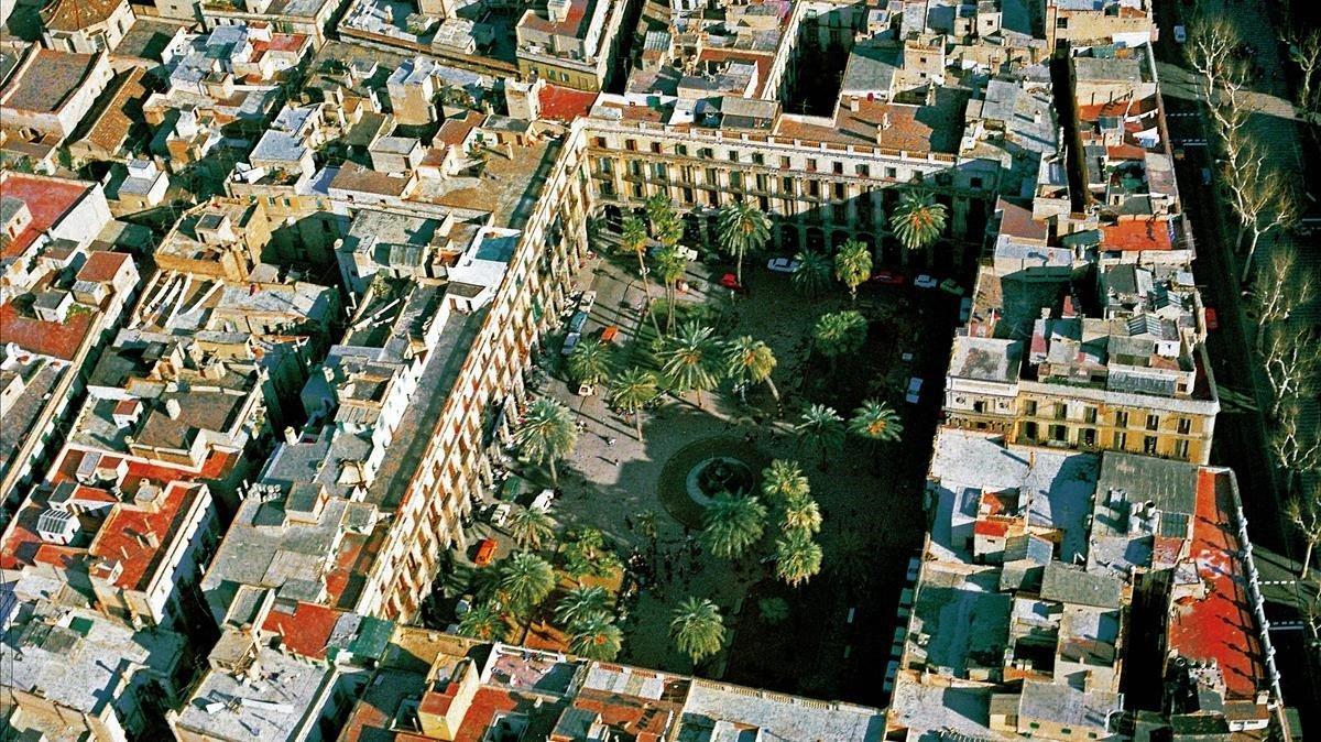 La plaça Venèria de Barcelona
