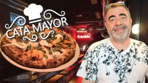 Cata Mayor: Restaurante Frankie Gallo Cha Cha Cha