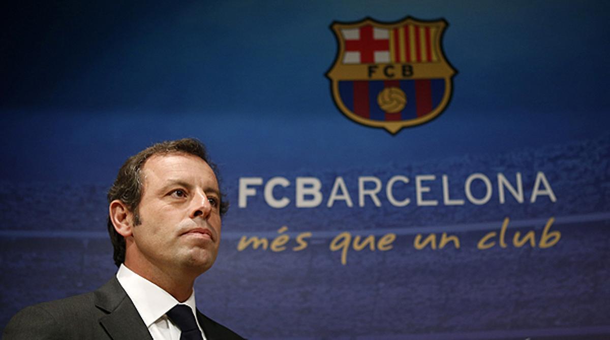 El discurso de despedida del presidente del Barça, íntegro.