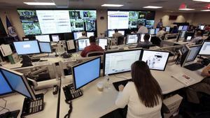 El Centro Nacional de Ciberseguridad e Integración de Comunicaciones estadounidense, en Arlington (Tejas, EEUU).