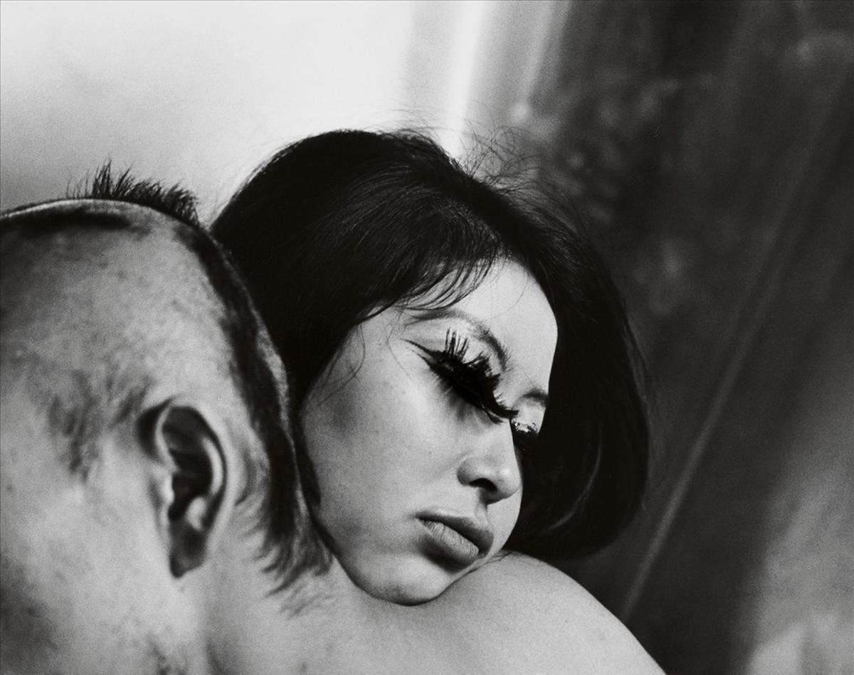 'Sangre y rosas', retrato realizado en 1968 para una de las series dedicadas a la sexualidad.