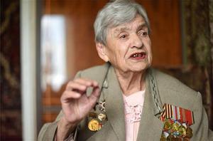 Liubov Alekséyevna Netúpskaya, en una de sus últimas entrevistas