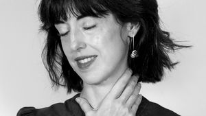 Irene Vallejo, autora de 'El infinito en un junco', en Zaragoza.