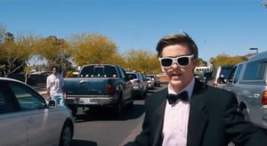 Jacob Staudenmeier, un fan de Emma Stone, recrea 'La La Land'.