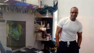 Keith LaMar, en prisión desde hace 28 años en Ohio y condenado a muerte, en su celda.