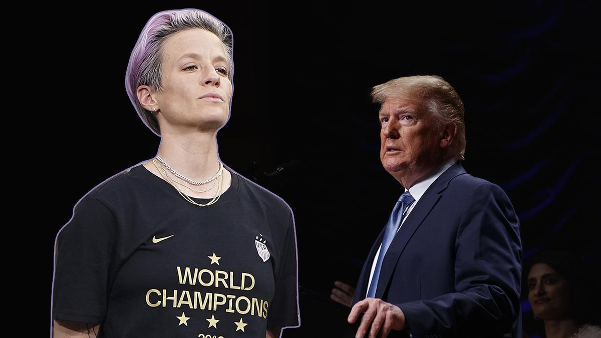 """Rapinoe, la capitana de la selecció de futbol dels EUA, a Trump: """"El teu missatge exclou gent com jo"""""""