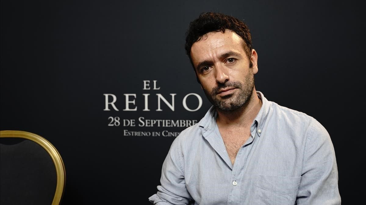 El director de cine Rodrigo Sorogoyen, en el Festival de Cine de San Sebastián.