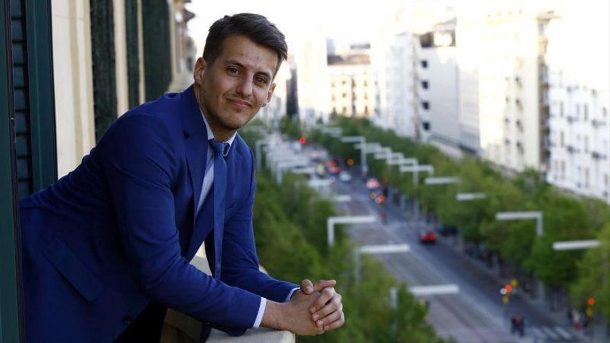 El abogado y divulgador del aragonés Jorge Pueyo.