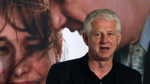 Richard Curtis en la presentación en Madrid de su película 'Una cuestión de tiempo'