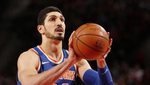 Enes Kanter, pívot de los Knicks.