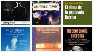 Algunos de los libros recomendados.