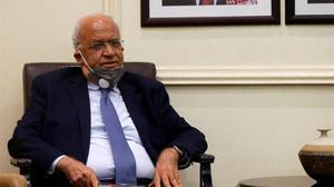 Saeb Erekat, secretari general de l'OAP, sedat i intubat per coronavirus