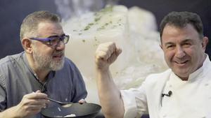Martín Berasategui enseña cómo preparar bacalao y 'kokotxas' al pilpil.