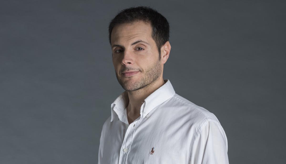 El actor Manel Piñero, que da vida al popular Homo APM.