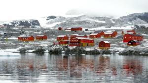 La base argentina de Esperanza, donde se ha registrado la temperatura récord en la Antártida.
