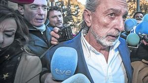 Francisco Correa, acusado en el 'caso Gürtel', en febrero, en Valencia.