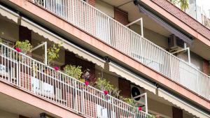 Edificio de viviendas en la ciudad de Barcelona.